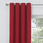 more details on Collection Linen Look Blackout Curtains - 117x137cm - Red.