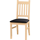 more details on Cucina Pair of Light Oak Dining Chairs.