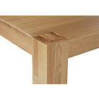 more details on Living Eden 180cm Oak Veneer Dining Table.