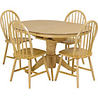more details on Kentucky Natural Extendable Dining Table and 4 Chairs.