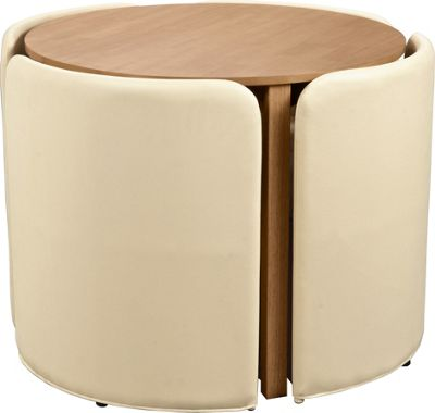 Buy Hygena Wooden Space Saver Table and 4 Chairs Cream  : 6036274RSETTMBampwid620amphei620 from www.argos.co.uk size 620 x 620 jpeg 23kB