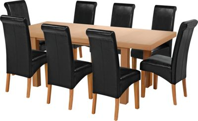Buy Collection Wickham Dining Table amp 8 Chairs Oak Veneer  : 6037455RZ001Afmtpjpgampwid570amphei513 from www.argos.co.uk size 570 x 513 jpeg 24kB