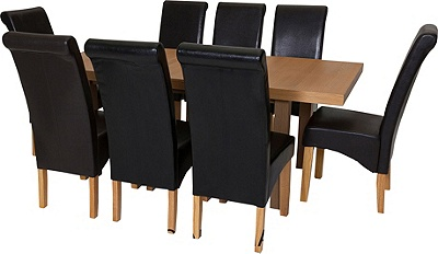 Buy Collection Wickham Dining Table amp 8 Chairs Oak Veneer  : 6037455RZ001AUC1599186fmtpjpgampwid570amphei513 from www.argos.co.uk size 570 x 513 jpeg 45kB