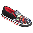 more details on Avengers Canvas Trainers - Size 8.