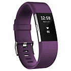 more details on Fitbit Charge 2 Heart Rate + Fitness Band Plum - Small.