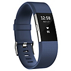 more details on Fitbit Charge 2 Heart Rate + Fitness Band Blue - Large.