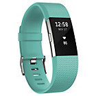 more details on Fitbit Charge 2 Heart Rate + Fitness Band Teal - Small.