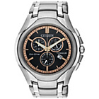 more details on Citizen Men's Titanium Two Tone Chronograph Watch.