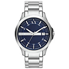 more details on Armani Exchange AX2132 Blue Stainless Steel Bracelet.
