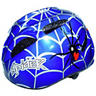 more details on Coyote Kids Spider Medium Bike Helmet 52-55cm - Blue.