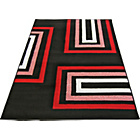 more details on Retro Blocks Rug - Black - 160 x 230cm.