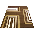 more details on Retro Blocks Rug - Chocolate - 160 x 230cm.