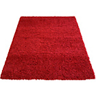 more details on Jazz Shaggy Rug - Red - 120 x 170cm.