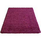 more details on Jazz Shaggy Rug - Plum - 160 x 230cm.