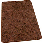 more details on Washable Shaggy Bath Mat - Chocolate.