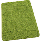more details on Washable Shaggy Bath Mat - Green.