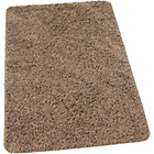 more details on Washable Shaggy Bath Mat - Latte.