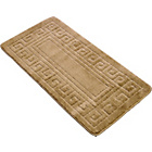more details on Greek Key Bath Mat - Latte.