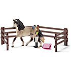 more details on Schleich Andalusian Horse Care Playset.