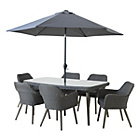 more details on Heart of House Rio Rattan Effect 6 Seater Dining Set.