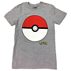 more details on Pokemon Adults Grey T‑Shirt.