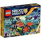 more details on LEGO Nexo Knights Aaarons Stone Destroyer - 70358.