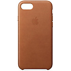 more details on Apple iPhone 7 Leather Case - Saddle Brown.