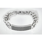 more details on Domain Gents' Stainless Steel Chain Bracelet Boxed.