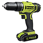 Guild 18V1.5AH Fastcharge Hammer Drill with 2 Batteries.