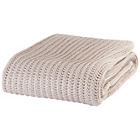 more details on Catherine Lansfield Chunky Knit Throw 125x150cm - Natural.