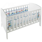 more details on BreathableBaby Liner For Solid End Cots - By The Sea.