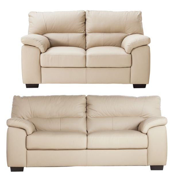 Discount Furniture Store Package 76: Buy Collection Piacenza 3 Seat And 2 Seat Leather Sofa