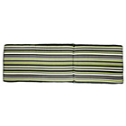 more details on HOME Garden Sunbed Cushion - Green Stripe.