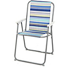 more details on Picnic Chair - Blue Striped.