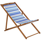 more details on Deck Chair - Blue Striped.