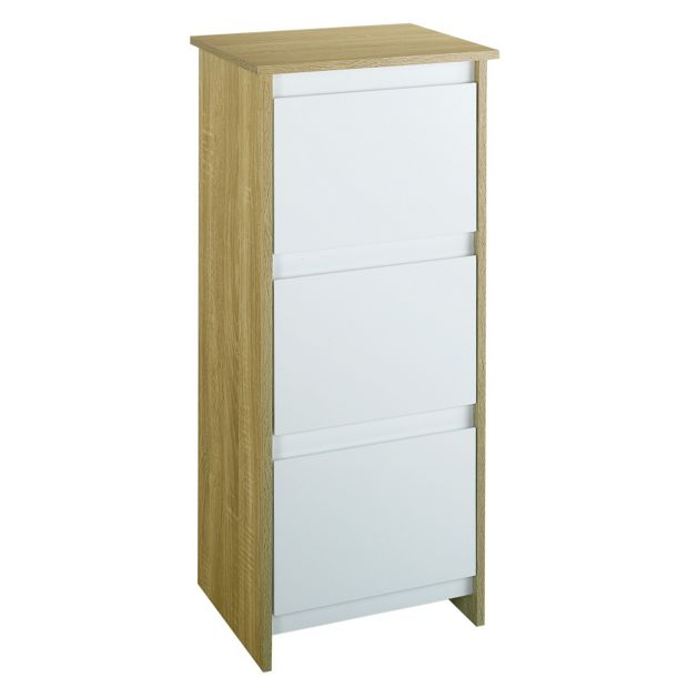 Buy Home Geneva 3 Drawer Floor Cabinet At Your Online Shop For Bathroom Cabinets