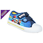 more details on PAW Patrol Boys' Blue Canvas Trainers - Size 5.