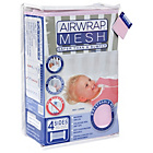 more details on Airwrap 4 Sided Mesh Cot Bumper - Pink.