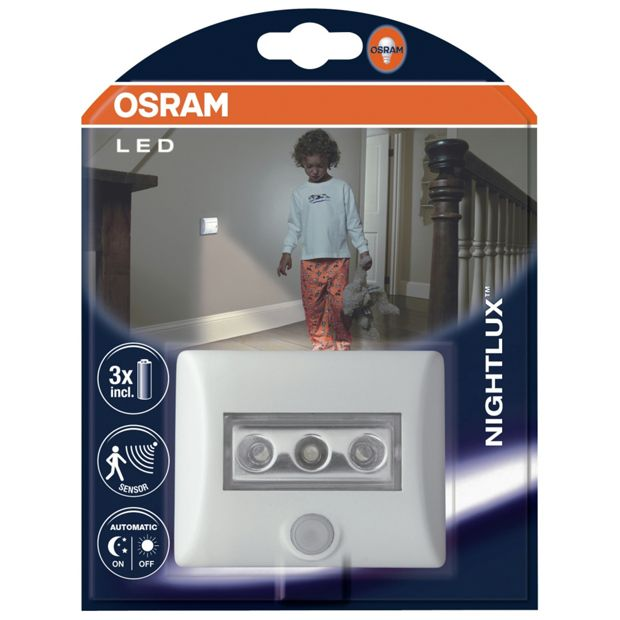 buy osram nightlux led indoor and outdoor night light at. Black Bedroom Furniture Sets. Home Design Ideas
