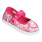 more details on Peppa Pig Toddle Canvas Shoes - Size 6.