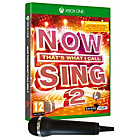 more details on Now That's What I Call Sing 2 with Mic Xbox One Pre-order.