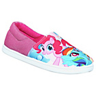 more details on My Little Pony Canvas Slip On Shoes - Size 8.