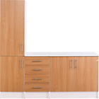 more details on Athina 3 Piece Fitted Kitchen Unit Package - Beech.