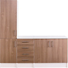 more details on Athina 3 Piece Fitted Kitchen Unit Package - Oak.