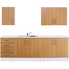 more details on Athina 5 Piece Fitted Kitchen Unit Package - Beech.