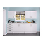more details on Athina 5 Piece Fitted Kitchen Unit Package - White Oak.