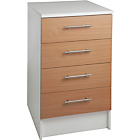 more details on Athina 500mm Fitted Kitchen Drawer Unit - Beech Wood Effect.