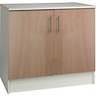 more details on Athina 1000mm Fitted Kitchen Base Unit - Beech Wood Effect.