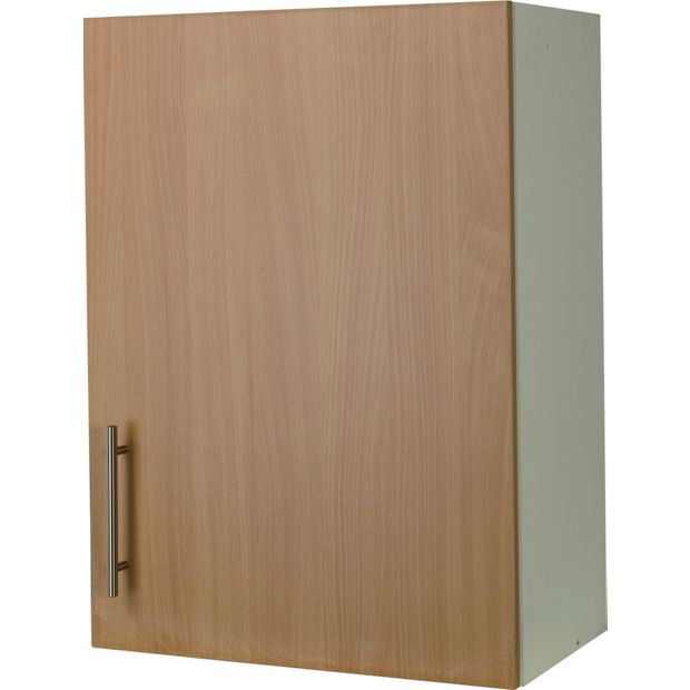 Buy athina 500mm fitted kitchen wall unit beech at your online shop for kitchen - Fitted kitchens for small spaces set ...