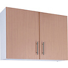 more details on Athina 1000mm Fitted Kitchen Wall Unit - Beech.